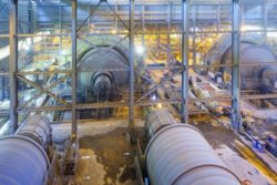 LE HELPS MINES AND CEMENT PLANTS CARE FOR THEIR EQUIPMENT