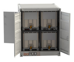 """Plug & play lubrication storage and dispensing """"pods"""" now available from Lubrication Engineers"""
